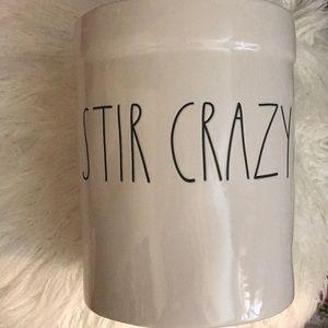 Other - Rae Dunn Stir Crazy